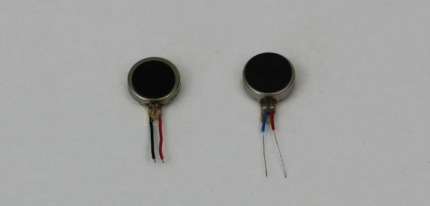 motors with wires