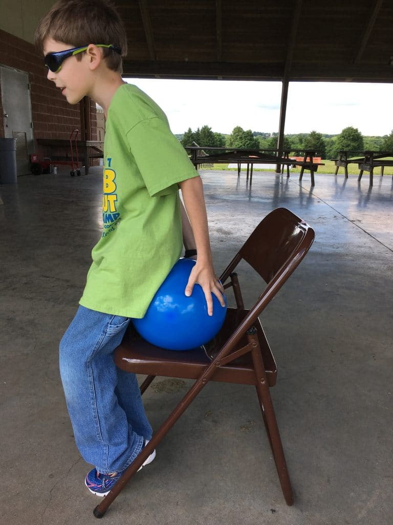 cub scout balloon games