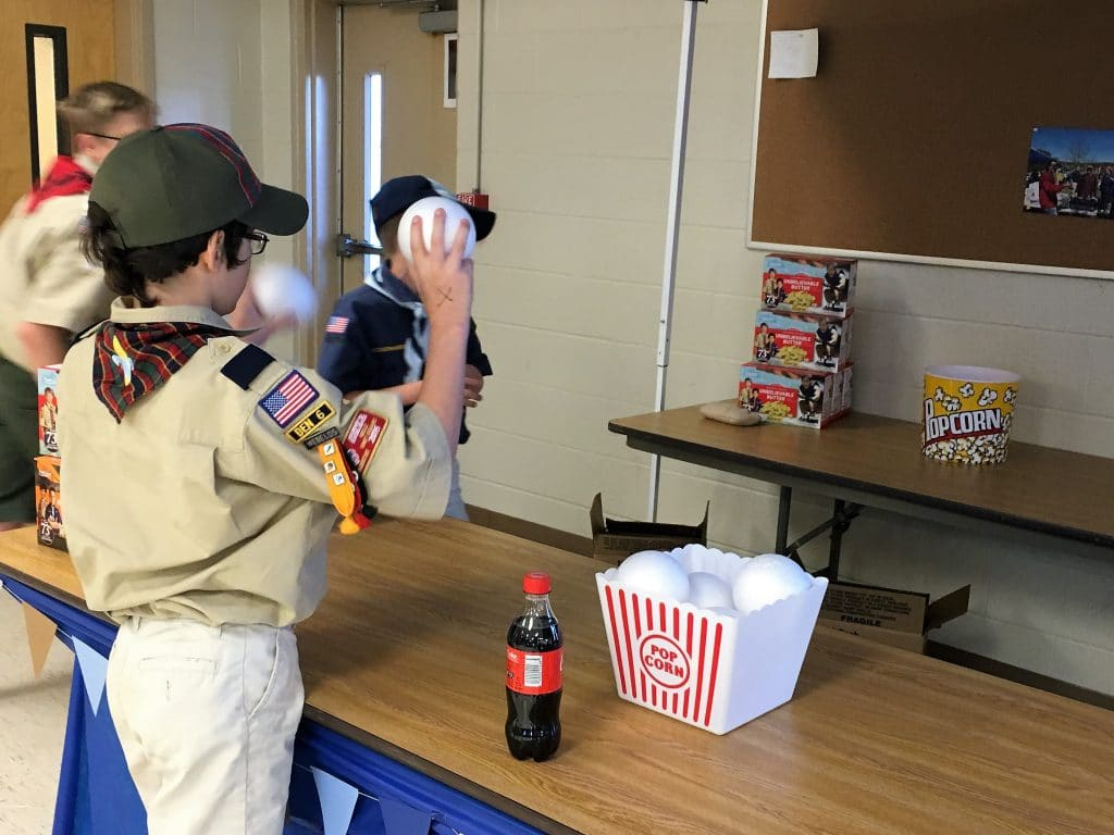 cub scout carnival game