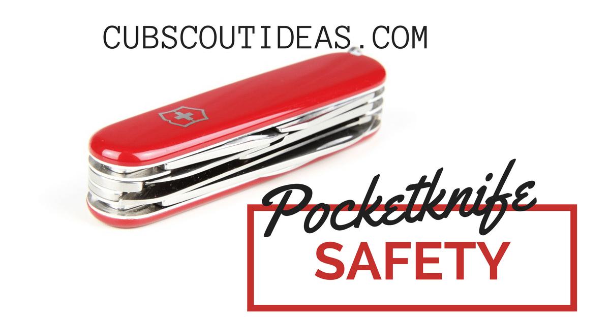 cub scout pocketknife safety