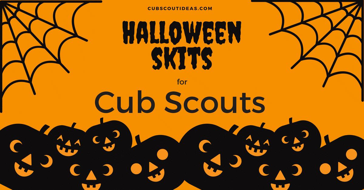 Halloween Cub Scout Skits