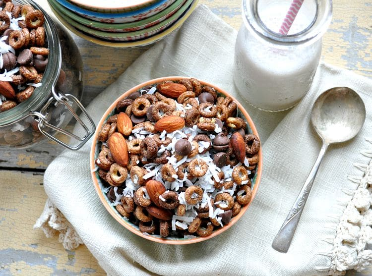 almond joy trail mix