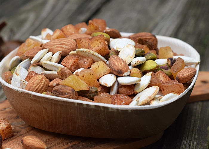 apple cinnamon pumpkin trail mix
