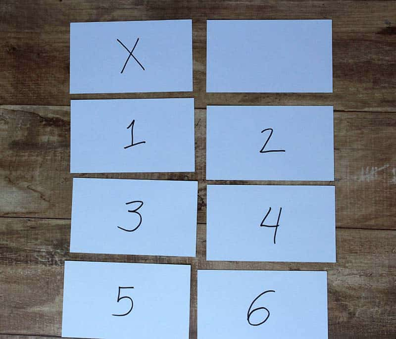 scout law index card game baseball