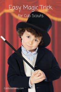 cub scout magic trick