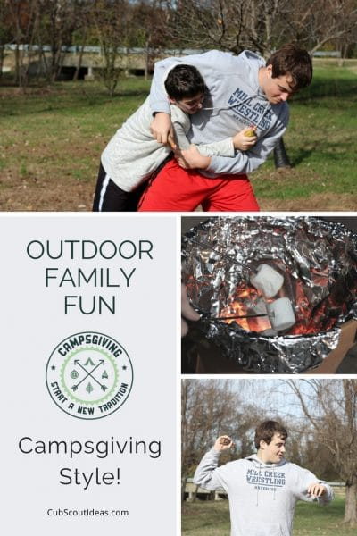 How to Have Fun with your Family Outdoors – Campsgiving Style!