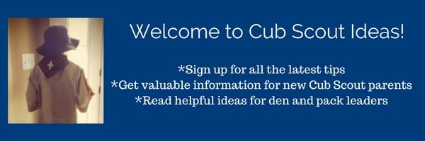 Cub Scout Ideas Sign Up