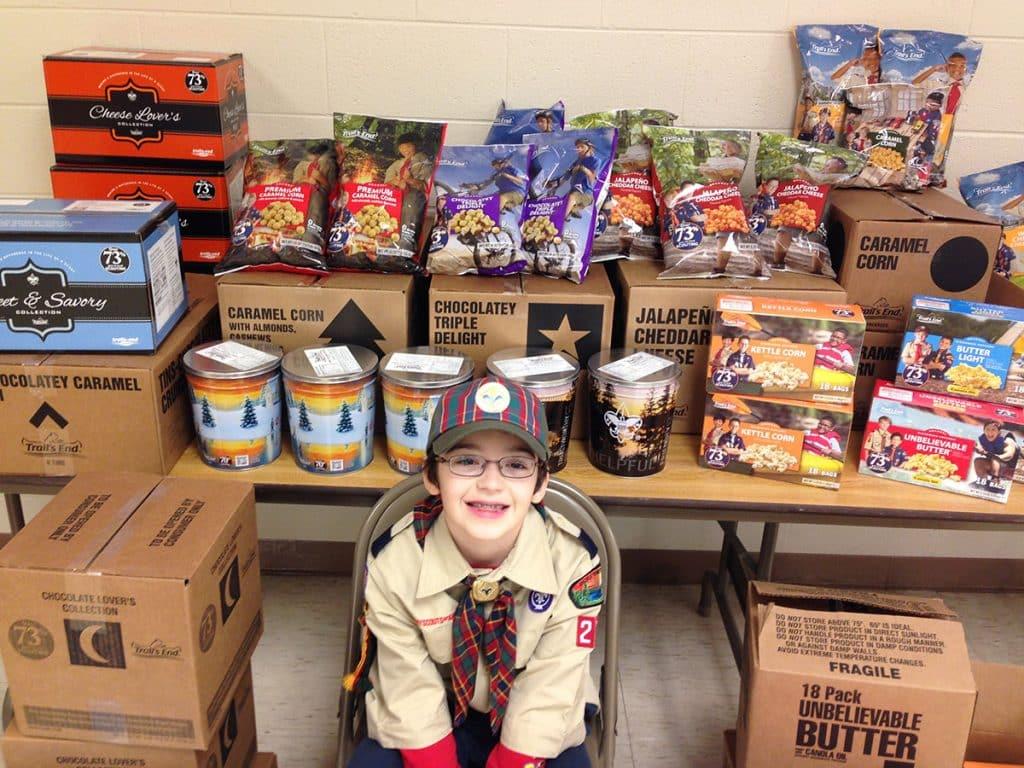 Cub Scout popcorn goal