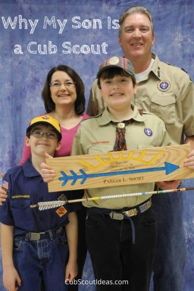 Top Five Reasons My Son is a Cub Scout
