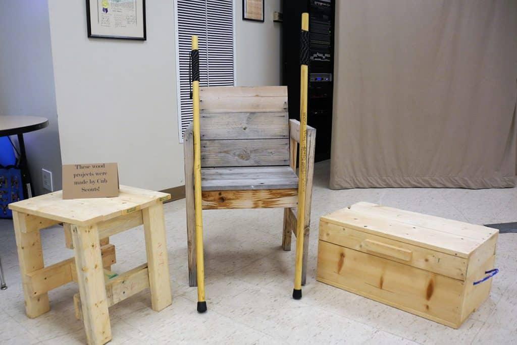 proyek kayu pramuka cub