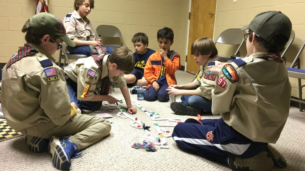 cub scouts game design