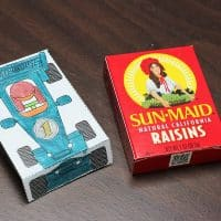 How to Make Fun Raisin Racers at Your Pinewood Derby