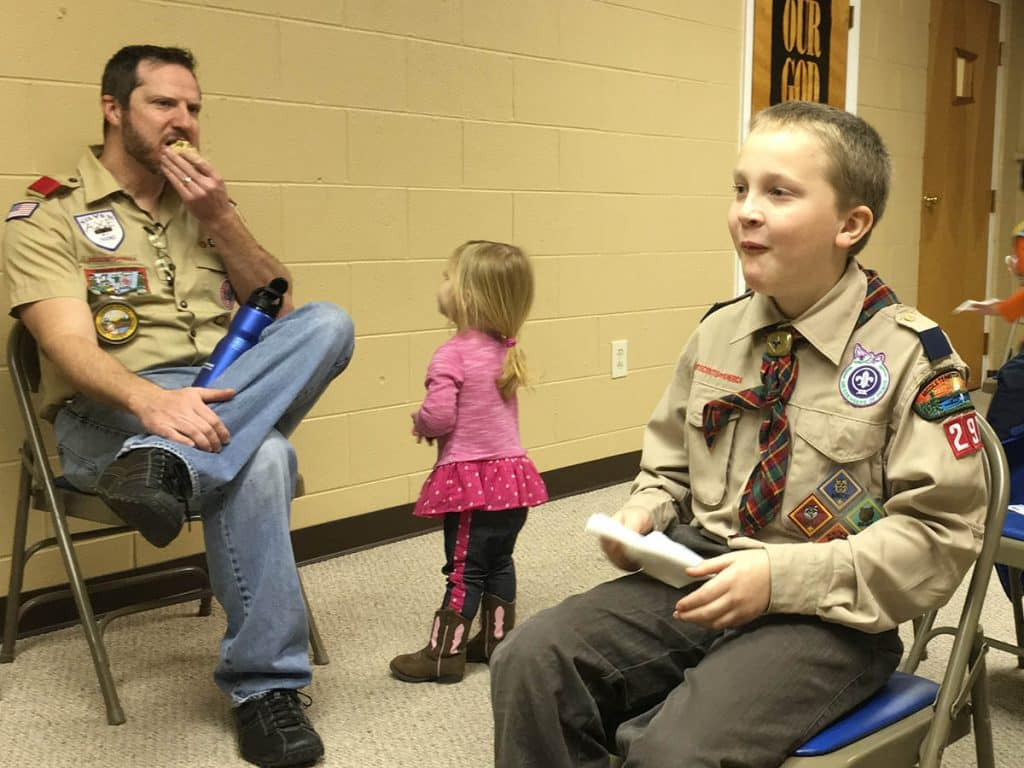 webelos teachable recipes trying cookies