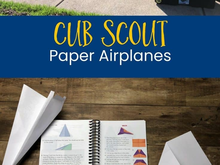 Cub Scout Paper Airplanes p