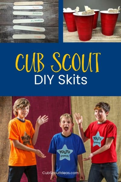 How to DIY Fun and Creative Cub Scout Skits