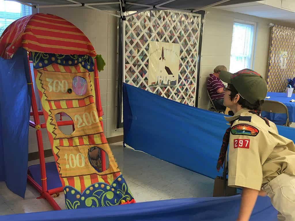 carnival game for cub scouts