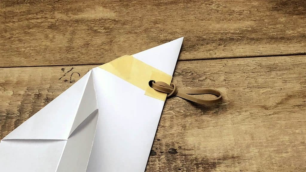 cub scout paper airplane launche