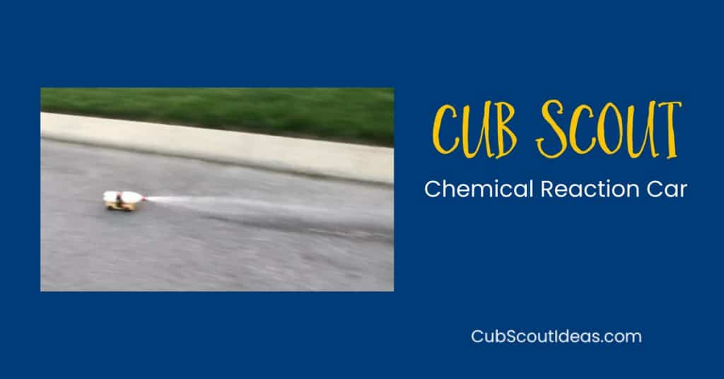 Cub Scout chemical reaction car f