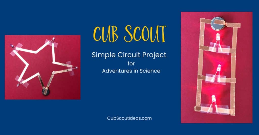 Cub Scout circuit project
