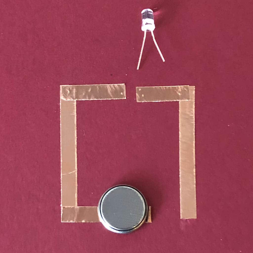Simple Circuit Project For Kids To Make Cub Scout Ideas Of A Series Composed Three Batteries Two Light Bulbs Scouts