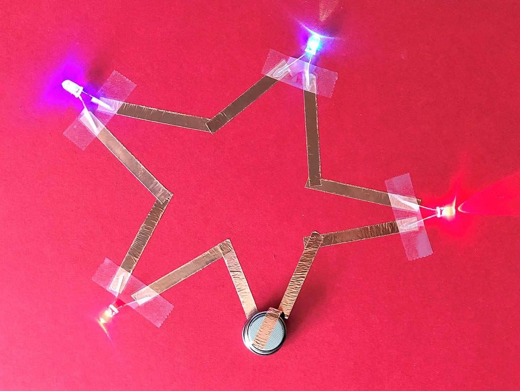 Simple Circuit Project For Kids To Make Cub Scout Ideas Series With 3 Bulbs Then A Three Bulb Star Circuits Scouts