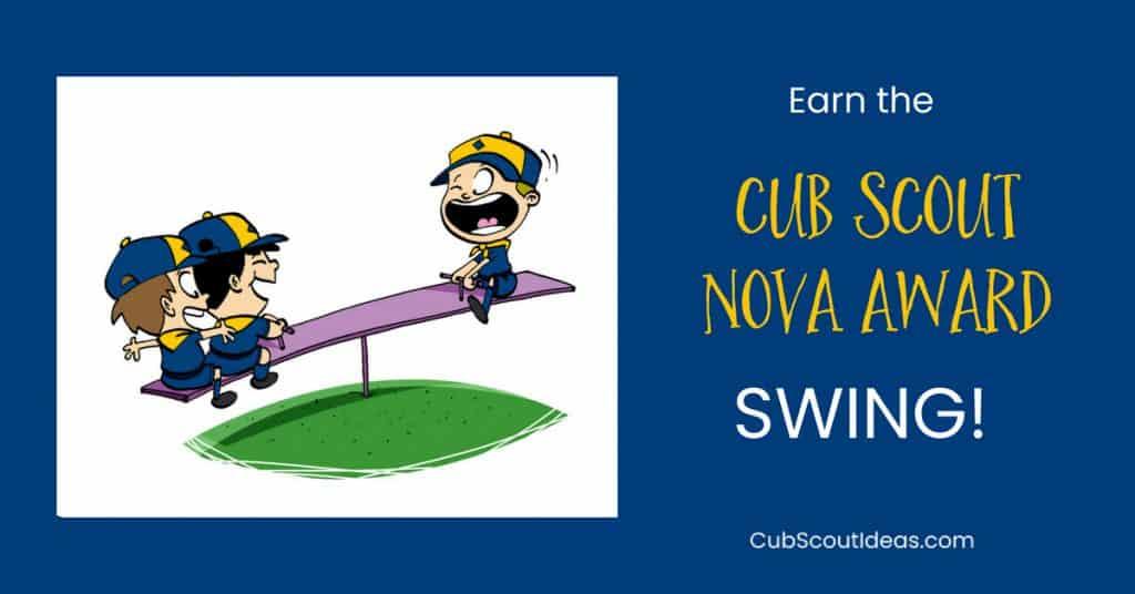 Cub Scout Nova Swing Award