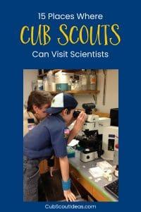 Cub Scouts Visit Scientists p