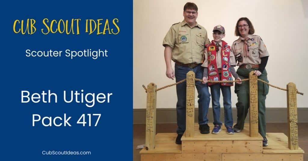 Beth Utiger Scouter Spotlight