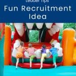 Cub Scout recruitment idea inflatables