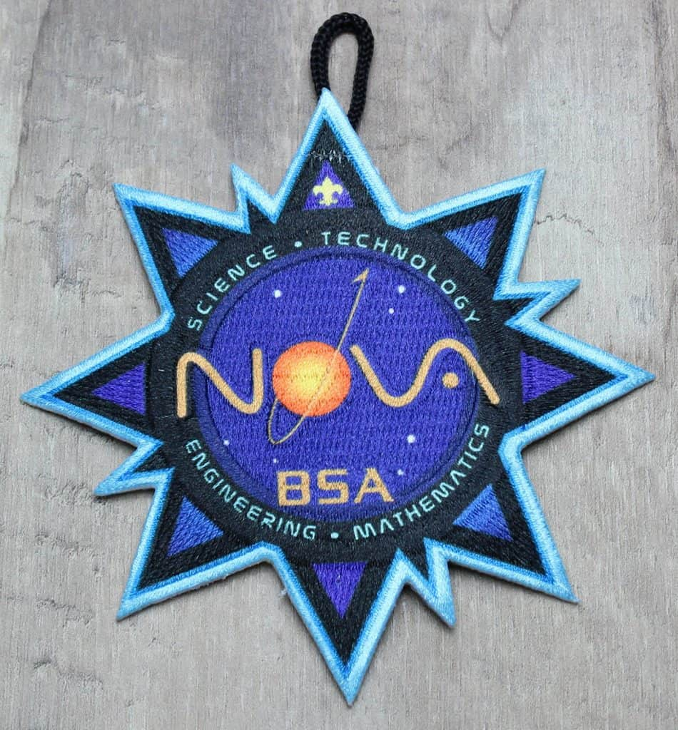 cub scout nova award patch