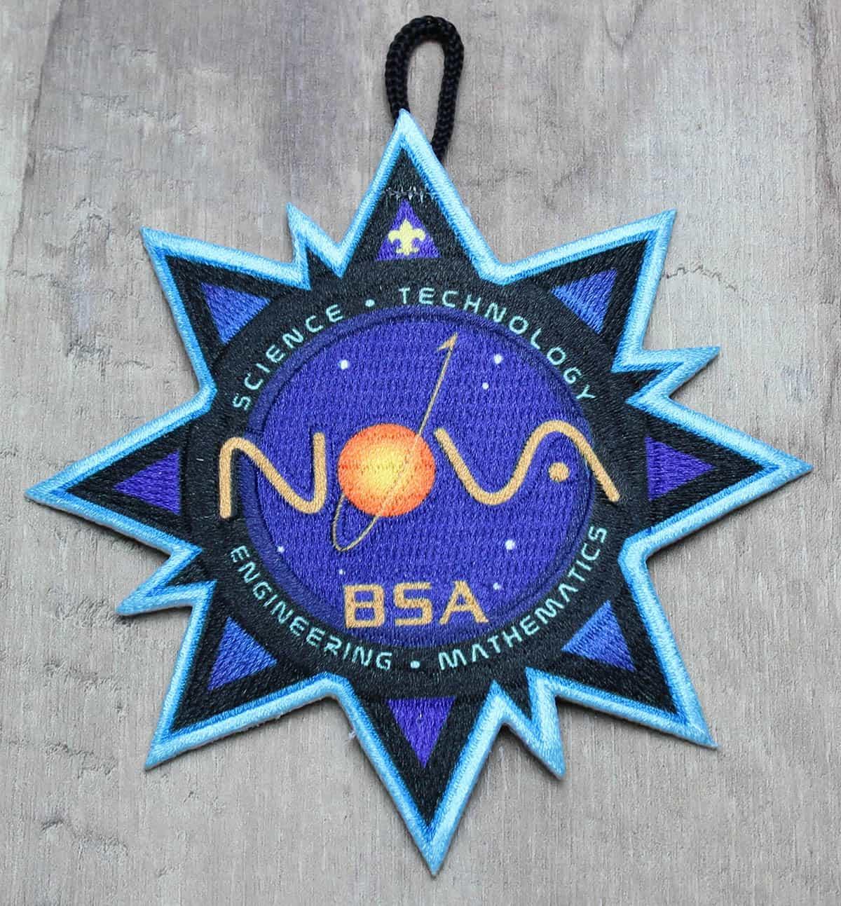 cub scout nova award patch