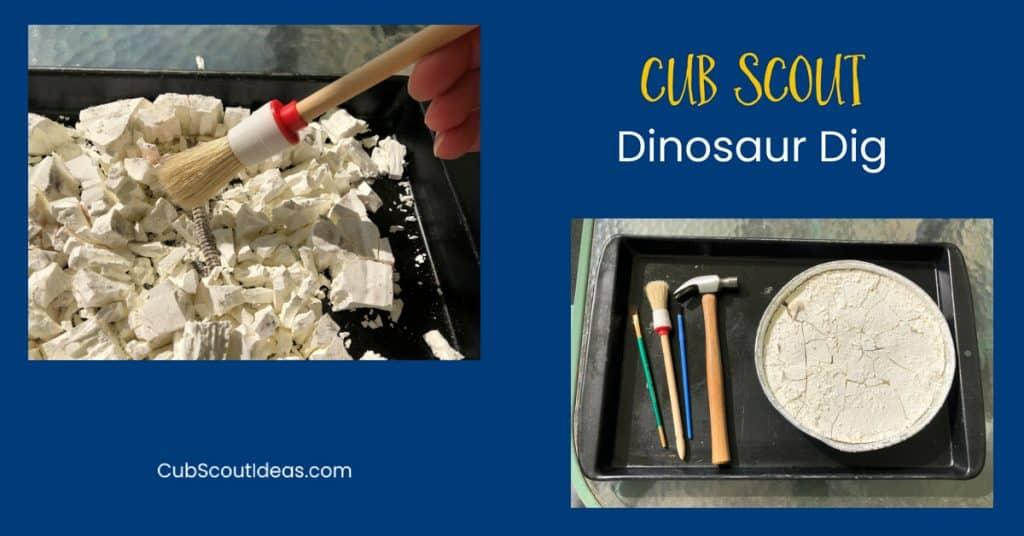 Cub Scout Dinosaur Dig