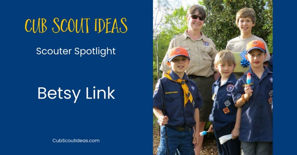 betsy link cub scout volunteer scouter