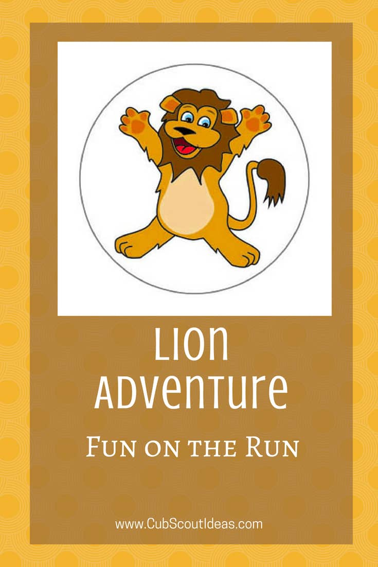 Cub Scout Lion Fun on the Run