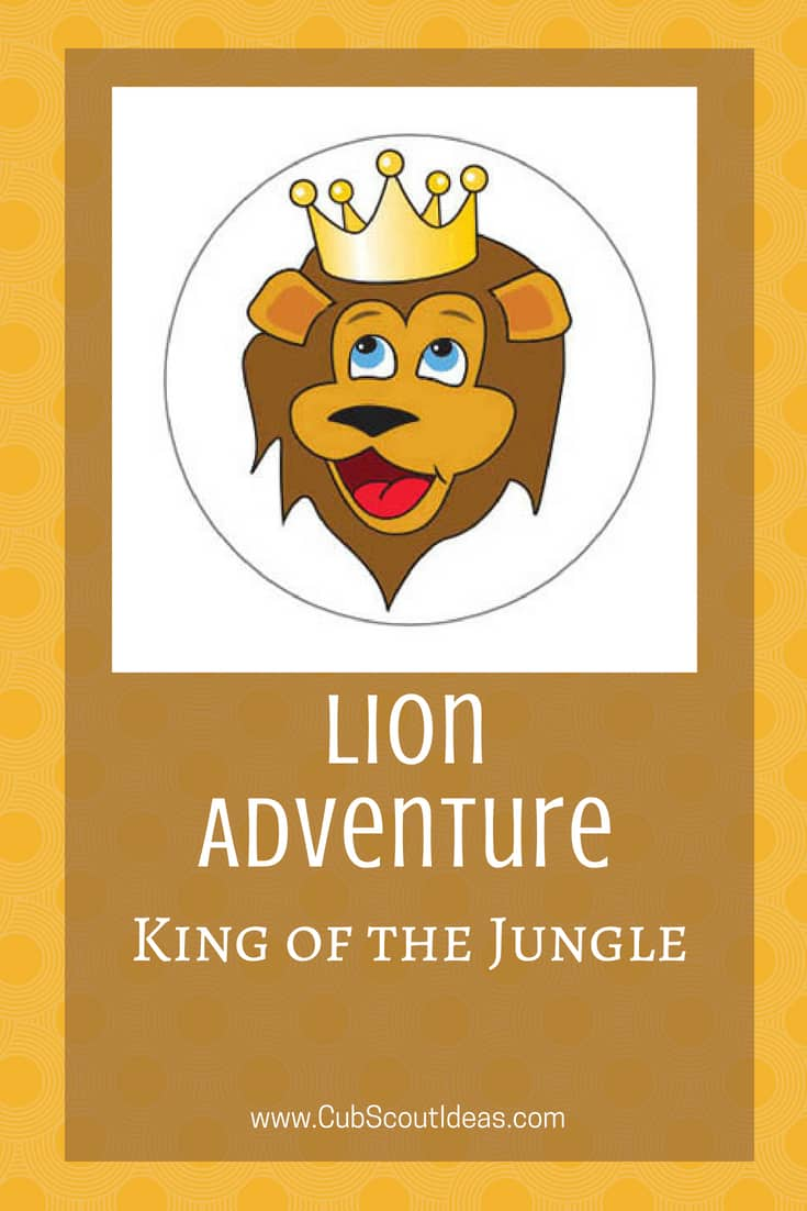 Cub Scout Lion King of the Jungle