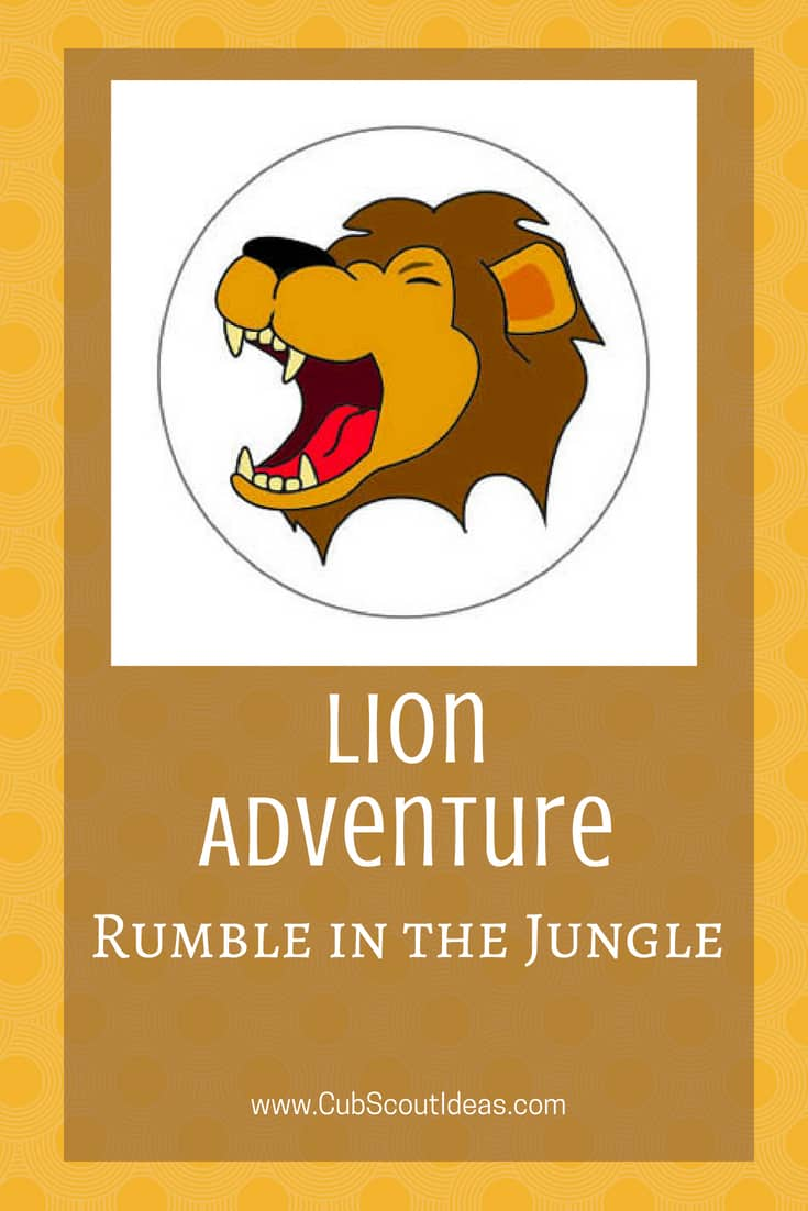 Cub Scout Lion Rumble in the Jungle