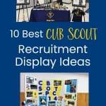 Cub Scout recruitment displays