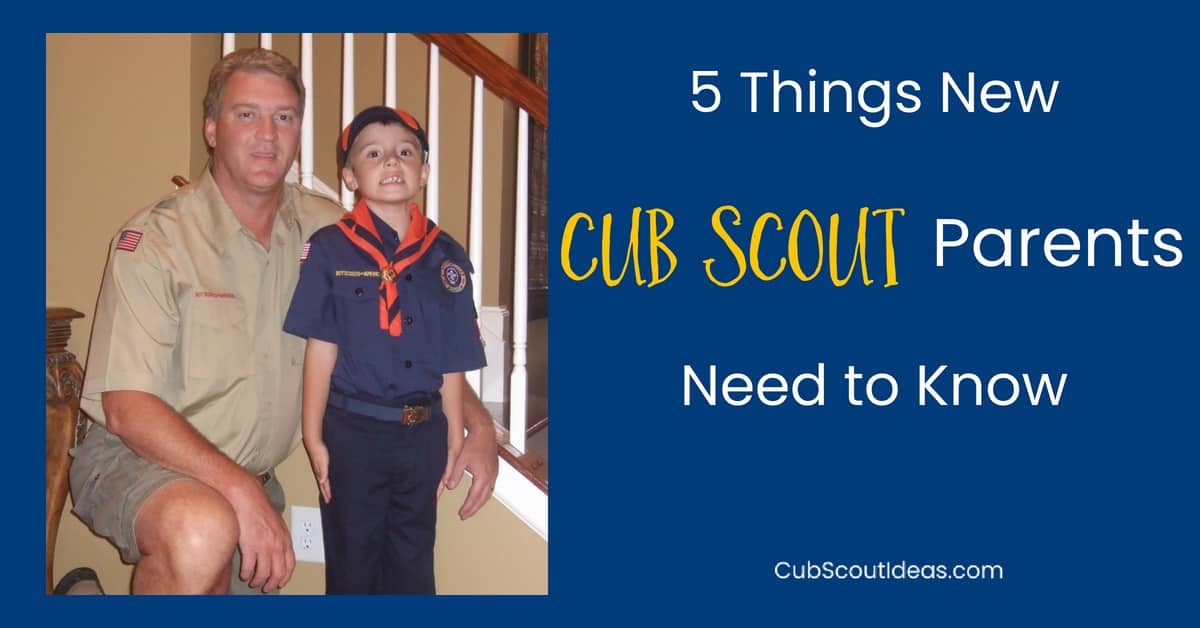 new cub scout parents information