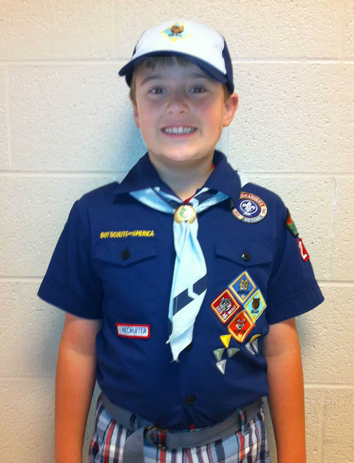 Bear Cub Scout uniform