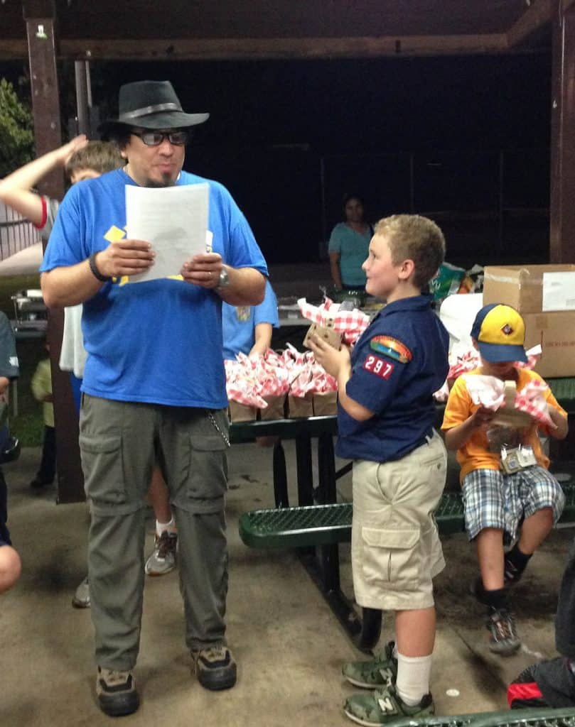 cub scout pack meeting picnic