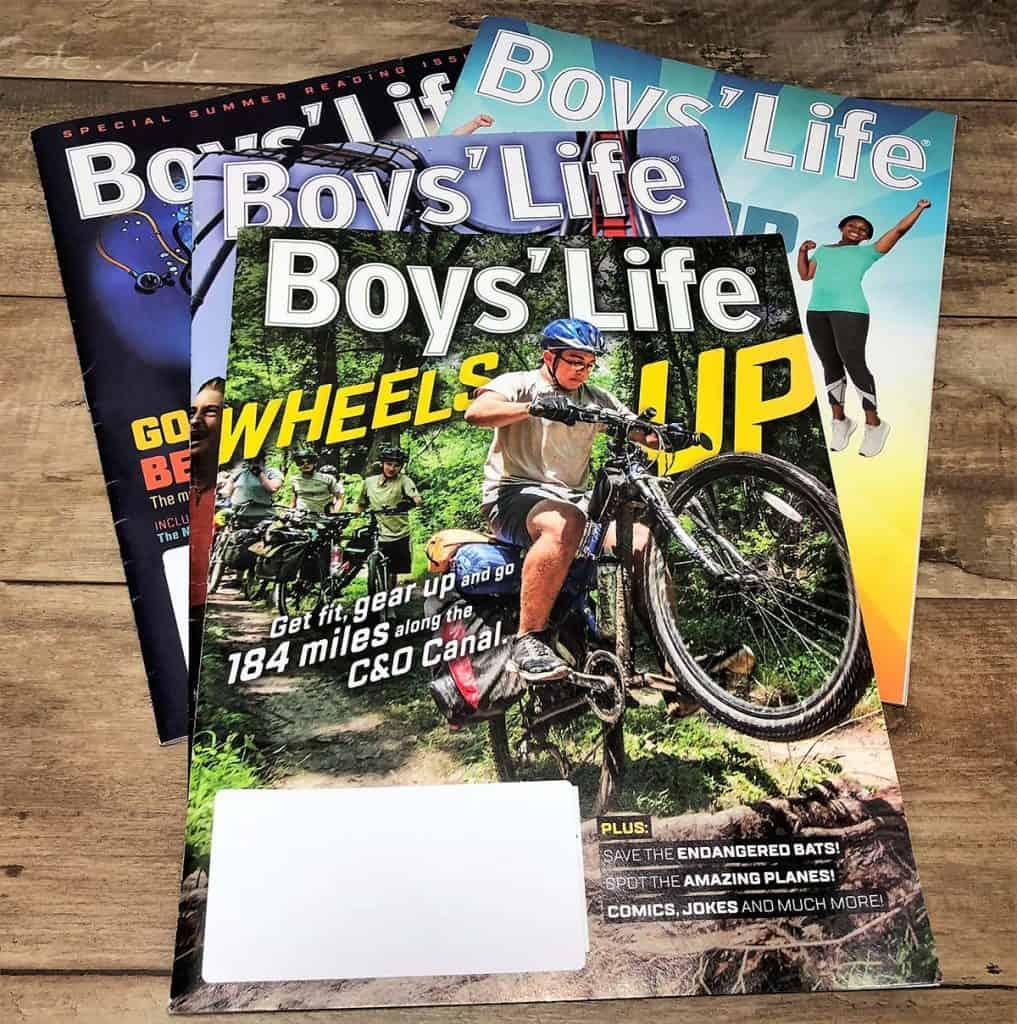 boys' life magazines