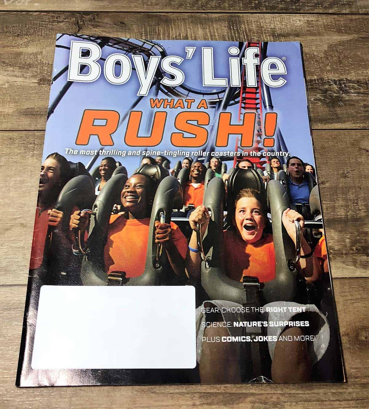 boys' life magazine cover