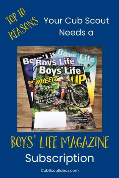 10 reasons to subscribe to boys' life magazine