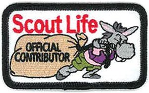 scout life contributor patch