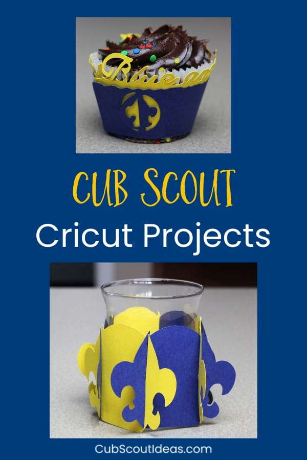 cricut cub scout projects