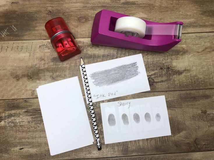 How to Do a Kids' Forensics Fingerprint Activity