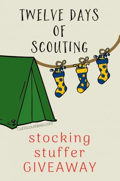 12 days of scouting stocking stuffer giveaway