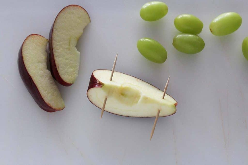 apple sehat pinewood derby camilan penempatan tusuk gigi