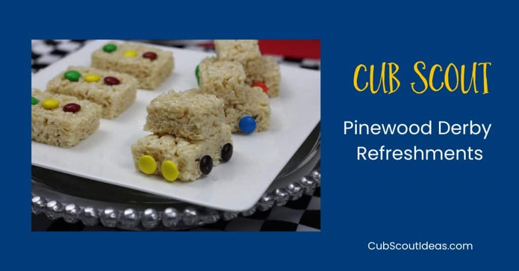 cub scout pinewood derby refreshments p