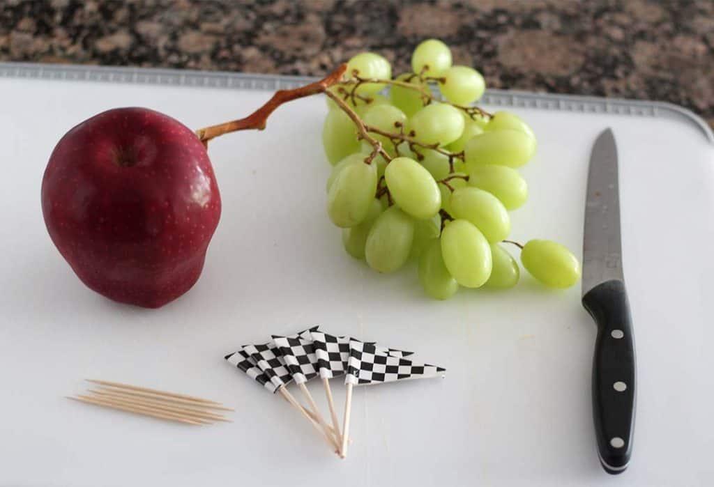 fruit healthy pinewood derby snack ingredients